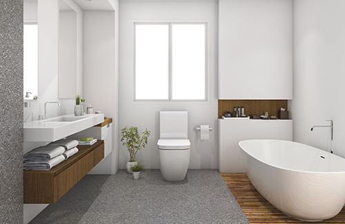 bathroom installation in fenton, mo